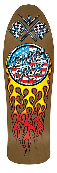 A nice Santa Cruz reissue Skateboard Design, Skateboard Decks, Santa Cruz Logo, Creature Skateboards, Hand Logo, Logo Sticker, Make Your Mark, Kustom, Playing Guitar