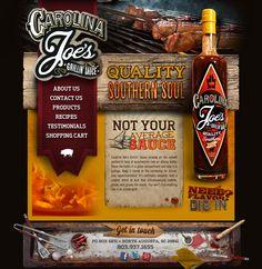 Carolina Joe's Grillin' Sauce #sauce #bbq #website