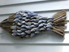 Goed te maken met schelpen en drijfhout