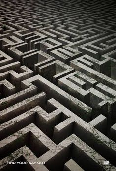 new Maze Runner poster if you look carefully you can see the maze runner spelled out in the maze