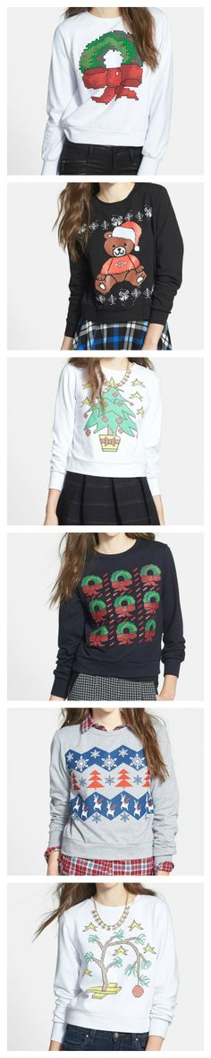 Cute! Ugly Christmas Sweaters