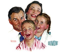 Love his work. The late Norman Rockwell. Norman Rockwell painting Norman Rockwell - I love his artwork! Norman Rockwell Prints, Norman Rockwell Paintings, The Saturdays, Creepy Kids, Fine Art, Caricatures, Vintage Ads, Retro Ads, Vintage Images