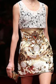 Dolce & Gabbana - Milan Fashion Week - Spring 2015 #fashion