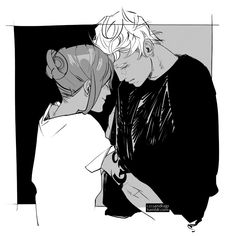 """Jace & Clary - """"I love when a character who is otherwise super self-confident shows their insecure side."""" - Cassandra Jean"""