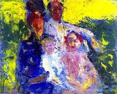 'Schönberg Familien', 1908 von Richard Gerstl (1883-1908, Austria)