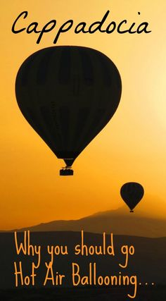 Hot air ballooning is the number 1 activity in Cappadocia, Turkey. Find out why in this post, plus tips for flying with Butterfly Balloons from Goreme.