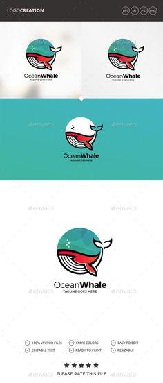 Buy Ocean Logo by Exe-Design on GraphicRiver. Monogram Logo, Environment Logo, Marines Logo, Craft Logo, Owl Logo, Water Logo, Fish Logo, Cartoon Logo, Logo Creation