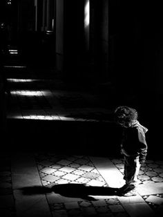 ☾ Midnight Dreams ☽ dreamy dramatic black and white photography - my shadow