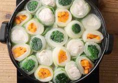 お鍋、いつもワンパターンで…という方は、彩り豊かでにぎやかな「まきまき鍋」がオススメですよ!