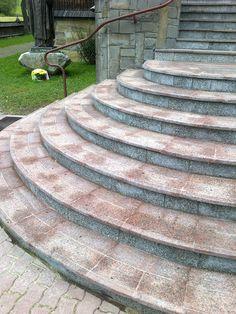 Schody z kamienia naturalnego.   Zobaczcie nasze realizacje na www.hanwil.pl biuro@hanwil.pl tel: 667 083 023
