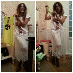 Ana Capel @capellier disfrutando de la colección de @Victoria Rockera