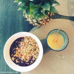 Luonnollisia keinoja flunssan hoitoon / natasahook.com Acai Bowl, Breakfast, Health, Food, Acai Berry Bowl, Morning Coffee, Health Care, Meals, Salud
