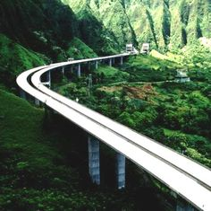 Interstate H3, Oahu The most beautiful interstate I've driven on by far