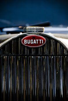 57 Atlantic by Marc Melander - Radiator detail of a very rare Bugatti 57 Atlantic. Photographed at Goodwood revival 2011.