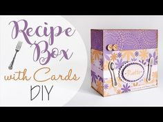 Master: Scatola ricettario con schede - ENG SUBS Recipe box with cards - YouTube