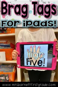 Are you interested in using brag tags for your behavior management, but do not want to do all the work that comes with it? I was that way too, so I created a way to send them to my students via their iPad! This new and exciting way of using a proven behav Class Dojo, New Class, Teaching First Grade, First Grade Teachers, Classroom Behavior, A Classroom, Behavior Management, Classroom Management, Brag Tags