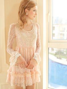 Mango Doll - Lace Victorian Sleeve Dress , $69.99 (http://www.mangodoll.com/all-items/lace-victorian-sleeve-dress/)