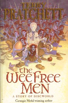 The Wee Free Men (2003) by Terry Pratchett. A delightful read, though delightful is a strange word to use about the determined and non-sentimental Tiffany and the fighting Nac Mac Feegles. Finished 2nd Sept 2015, probably fourth read.