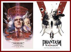 One-Sheets debut for PHANTASM: RAVAGER and PHANTASM: REMASTERED!