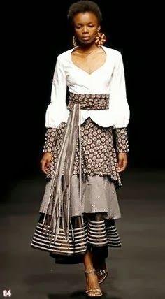 Designer Of Shweshwe Dresses 2014