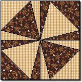 Shoemaker's Puzzle (free quilt block pattern) Would be great in blue and white or red and white