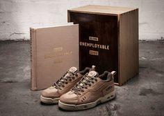 """Super Deluxe Globe X Sneaker Freaker """" Unemployable"""" #book #sskateboardingstory #globe #sneakerfreaker #skateshoes"""