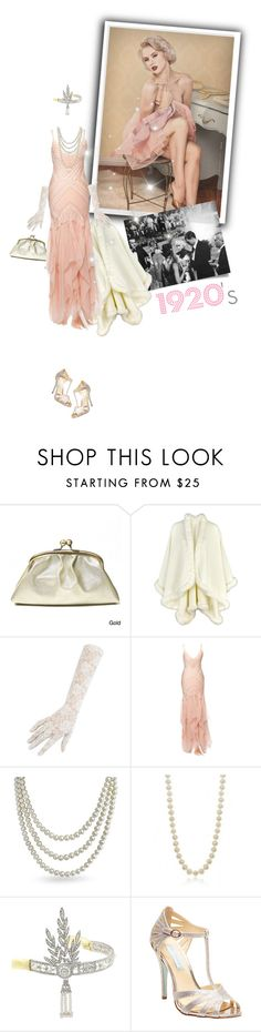 """""""TIME MACHINE [ ON ]"""" by meddyanka ❤ liked on Polyvore featuring Jenny Packham, Bling Jewelry, Betsey Johnson, vintage, women's clothing, women's fashion, women, female, woman and misses"""