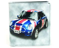 Mens Golunski Quality Soft Leather Wallet Retro Trifold Mini free postage UK mainland.