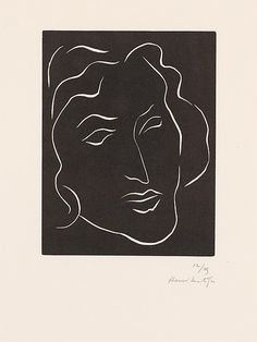 Florentine  Artist:Henri Matisse (French, Le Cateau-Cambrésis 1869–1954 Nice) Date:1938 Medium:Linocut on paper, edition 12/25 Dimensions:sheet: 20 1/2 x 13 1/8 in. (52.1 x 33.3 cm) plate: 7 1/4 x 5 5/8 in. (18.4 x 14.3 cm) Classification:Prints