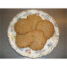 Margie's Shortbread Oatmeal Cookies - Allrecipes.com