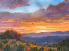 Twilight - Ellen Walton - New Mexico Creates - Stunning Art Work by New Mexico Artists