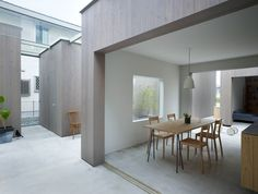 House in Buzen - Fukuoka, by Makoto Tanijiri (Suppose Design Office)