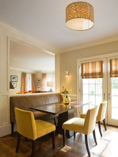 BANQUETTE SEATING - Robin McGarry Interior Design's Design, Pictures, Remodel, Decor and Ideas