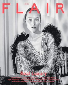 Josephine Le Tutor by Daniel Riera for Flair Italy No.26 Cover