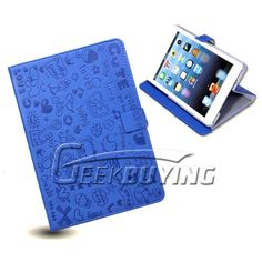 New Cute Girl Holder Stand PU Leather Cover Case For iPad Mini $6.99