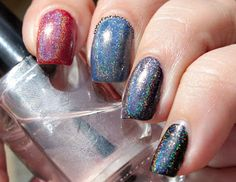 Confessions of a Sarcastic Mom: Literary Lacquers I'm Drinking Stars swatches+review