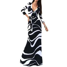 Cheap maxi dress, Buy Quality long maxi dress directly from China maxi dress casual Suppliers: OMILKA Robe Longue Femme 2017 Spring Women Long Sleeve Bodycon Long Maxi Dress Casual Striped Printed Club Party Dress Plus Size Party Dresses For Women, Club Dresses, Sexy Dresses, Casual Dresses, Fashion Dresses, Long Dresses, Dress Long, Bandage Dresses, Pencil Dresses