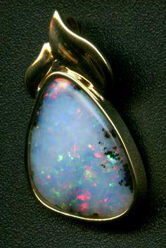 Honduran opal pendant