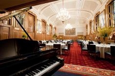 Have your reception in breathtaking style at Clothworkers' Hall. Dine beneath the striking beauty of five stained glass windows and take to the floor under the chandeliers' shimmering light for your first dance. Truly a night to remember.