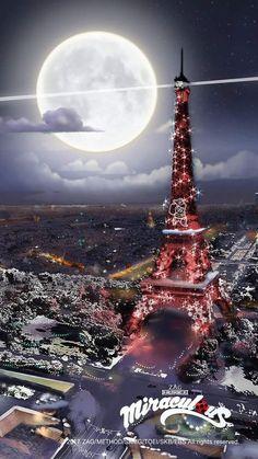 Christmas in Paris! Miraculous Ladybug Christmas, Anime Miraculous Ladybug, Mlb Wallpaper, Paris Wallpaper, Meraculous Ladybug, Ladybug Comics, Thomas Astruc, Les Miraculous, Miraculous Characters