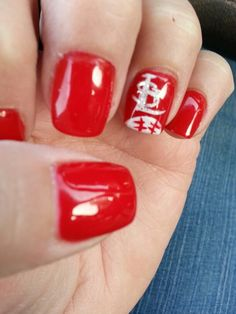 Cardinal nails