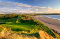 Ballybunion Golf Club. County Kerry, Ireland.