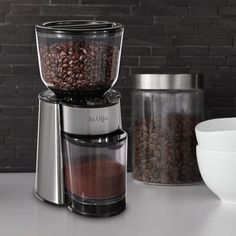 Mr. Coffee BVMC-BMH23 Automatic Burr Mill Grinder, Black/Silver: 亚马逊中国: 厨具-海外购 美亚直邮