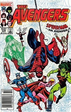 Wasp Comics | Early 80s (Cap, Wasp, Vision, Scarlet Witch, She-Hulk, Starfox, and ...