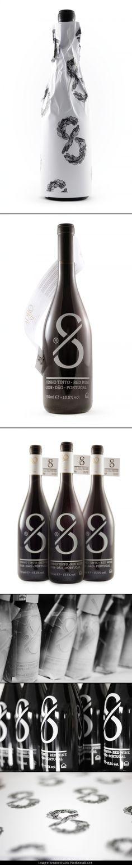 8 wine by Eight Studio   #maximum #taninotanino