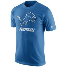 Detroit Lions Nike Facility T-Shirt - Light Blue - $20.99