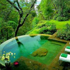 Nature pool - Pinterest pic picks by RetoxMagazine.com