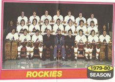 Topps Hockey Poster Colorado Rockies Team Don Cherry Team Pictures, Team Photos, Hockey Posters, Don Cherry, Summit Series, Goalie Mask, Wayne Gretzky, New Jersey Devils, Hockey Games