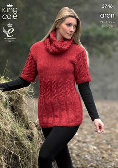 Knitted tunics are not only on trend for this autumn winter they are also predicted to be a big trend for spring summer 2016 - King Cole