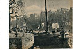 Amsterdam Oude schans 1935 | by janwillemsen